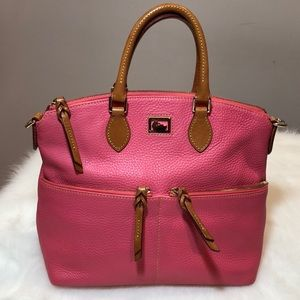 Gorgeous Dooney & Bourke Pink Dillen Satchel!!